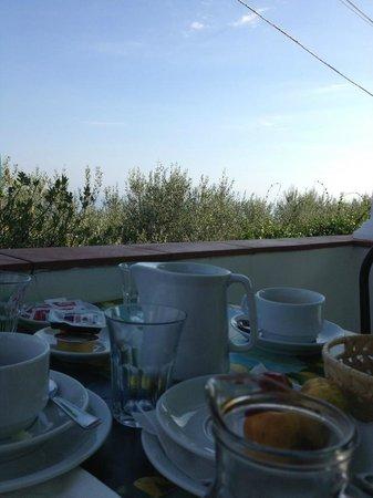 Da Carlo a Veterino:                   La colazione