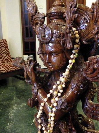 Pondicherry Executive Inn Pvt Ltd:                   Foyer Krishna with Flute