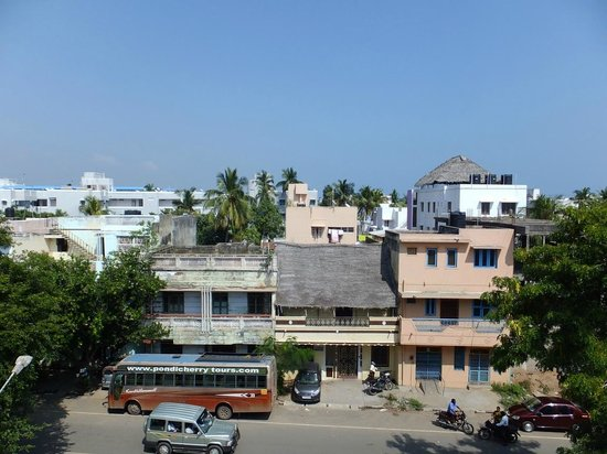 Pondicherry Executive Inn Pvt Ltd:                   Room Balcony View