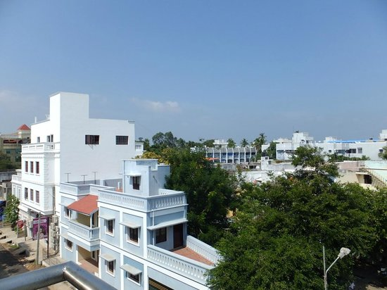 Pondicherry Executive Inn Pvt Ltd:                   Room Balcony View 2