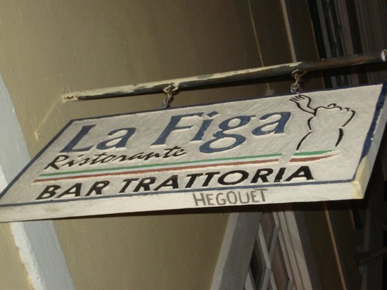 Ristorante La Figa: Ristorante Italiano