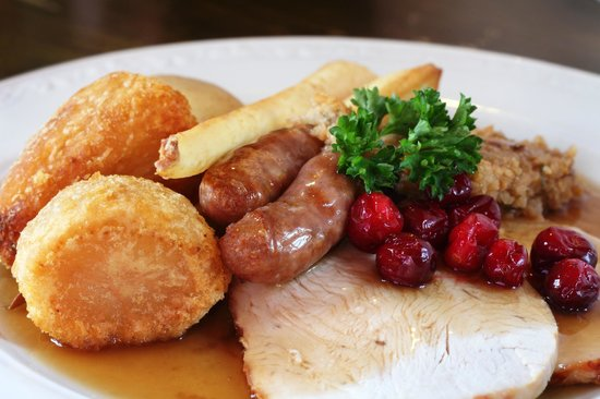The Bell Inn: Turkey Roast with all the trimmings