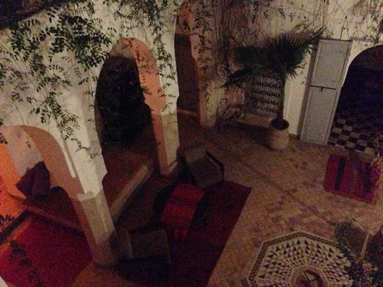 Riad Tizwa:                   View from our room.