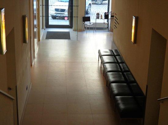 Maximilian Hotel:                   Hallway