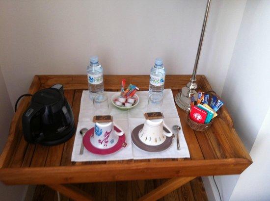 Villa Saint Genes: pause café