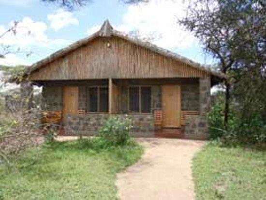 Ndutu Safari Lodge: Our room (right hand side)