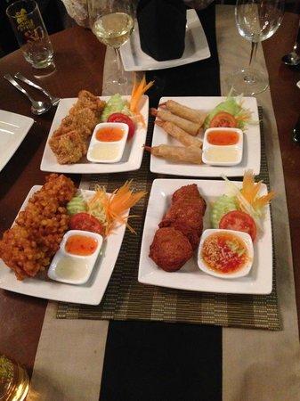 Sawadee Thai Restaurant:                   Starters = amazing!!