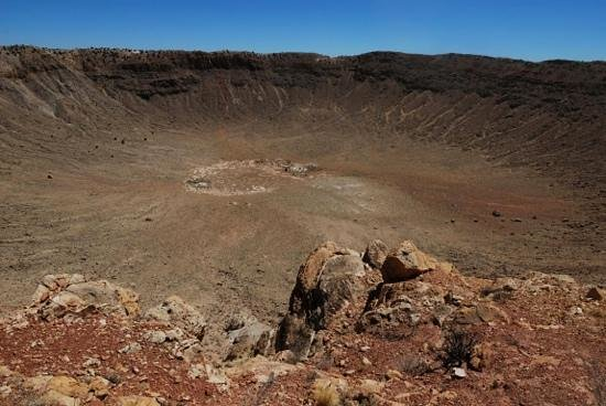 Meteor Crater:                   Super BIG!!!