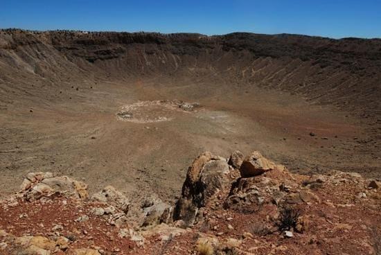 Meteor Crater:                   Super BIG!!!                 
