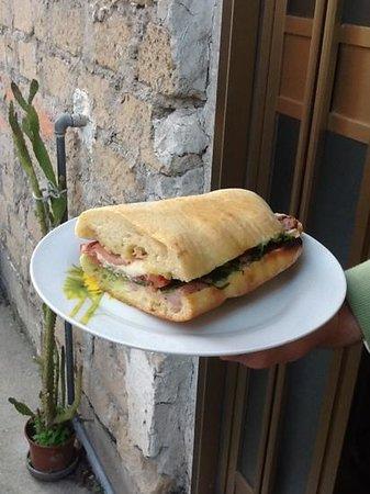 Da Pippo : panino di pippo burina