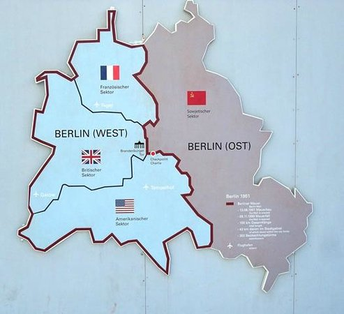 map  Picture of Memorial of the Berlin Wall Berlin  TripAdvisor