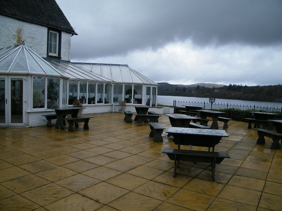 Portsonachan Hotel: The Patio