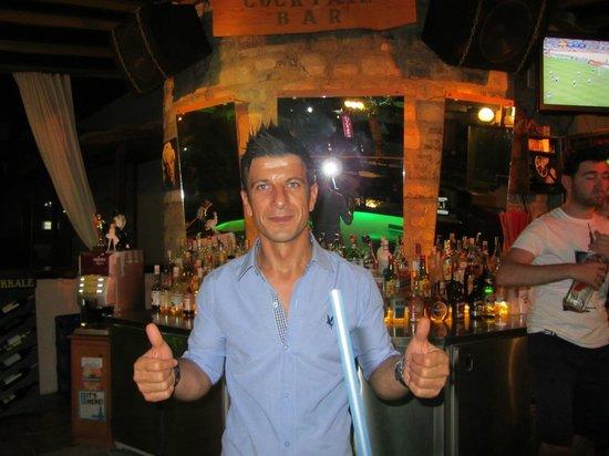 Hotel Bagevleri: Peter makes best Cocktails