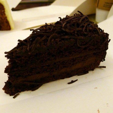 Starbucks Staromestske: Prague (chocolate) cake from Starbucks