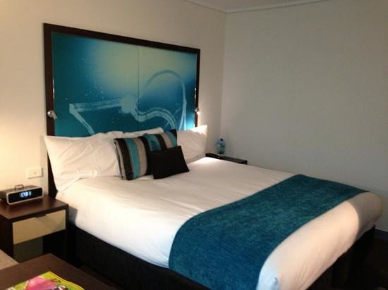 Novotel Melbourne on Collins: Double room