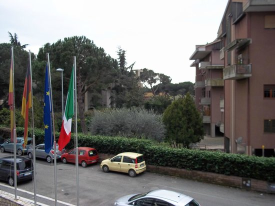 Hotel Capannelle: View from balcony