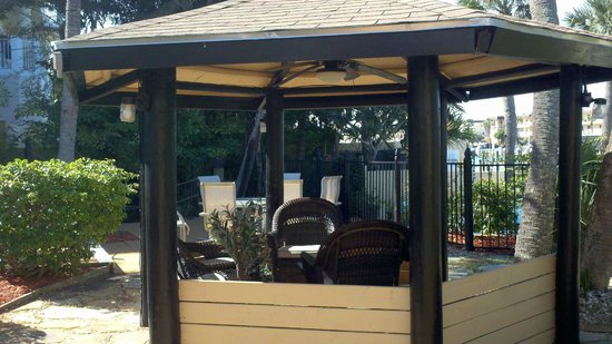 Turtle Beach Resort:                   Gazebo, with electrical hookups.