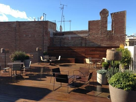 Mercer Hotel Barcelona : Beautiful roof terrace