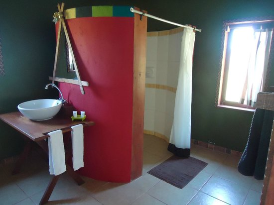 Olowuaru Keri Mara Camp:                                     Four foot hot shower