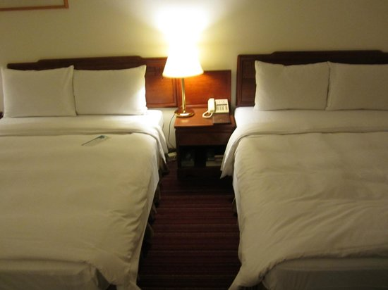 Howard Prince Hotel Taichung: Beds.