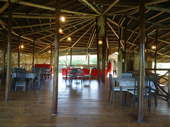 Olowuaru Keri Mara Camp:                                     Dining Area