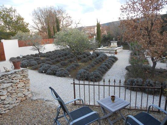 Le Clos des Lavandes : il giardino