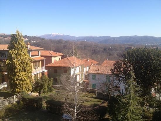 Hotel Al Sorriso: view from my room at Al Sorriso.