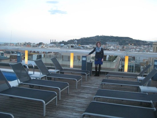 Hotel Jazz:                   Roof top terrace