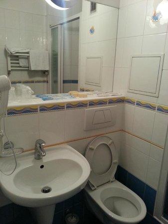 Hotel Flora: Bath