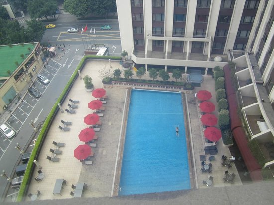 Grand China Hotel Guangzhou: view from room