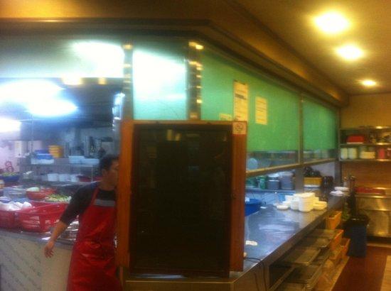 Yeonpo Galbi: kitchen