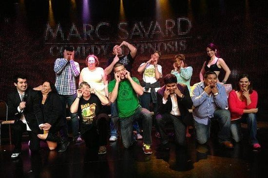 Marc Savard Comedy Hypnosis: What an awesome show!