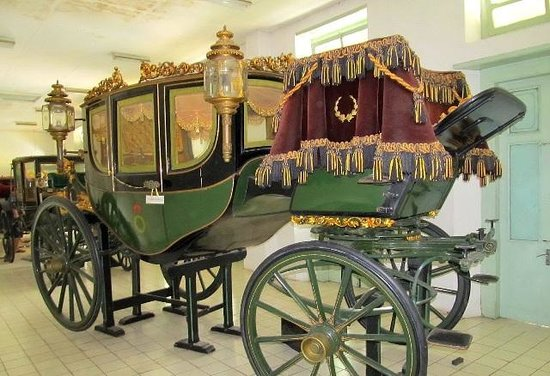Surakarta Hadiningrat Palace: special carriage