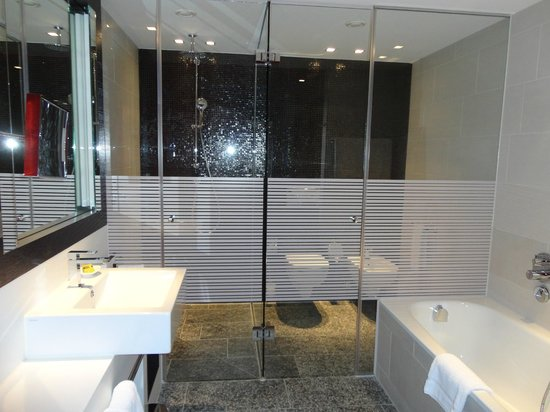 intercontinental berlin shower wc glass enclosures - Glass Enclosures