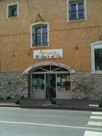 Gemenos, Francja: restaurant italien