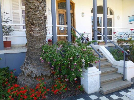 Hotel Casa Thomas Somerscales : La terrasse