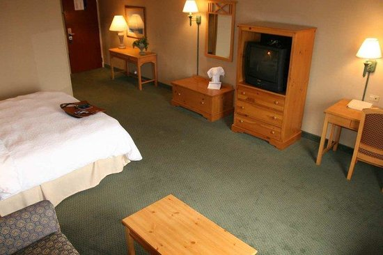 Hampton Inn Seekonk: King Delux room