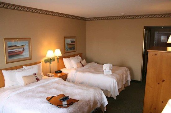 Hampton Inn Seekonk: 2 Queen Beds