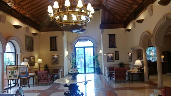 Marriott's Playa Andaluza: Reception area for Marriot resort