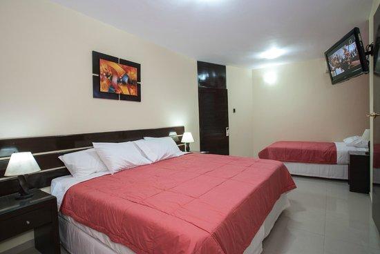 Hotel B'liam: Habitacion Triple Familiar