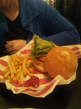TGI Friday's: Hamburger
