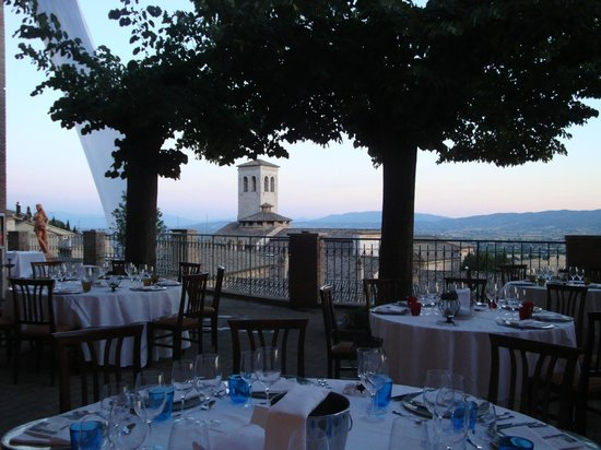 Le nostre terrazze - Picture of Hotel Giotto Assisi, Assisi ...