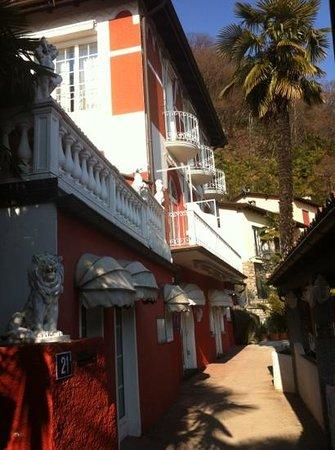 Hotel Elvezia al Lago: hotel view