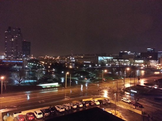 Holiday Inn Grand Rapids Downtown: Night View from the 7th Floor... NICE!