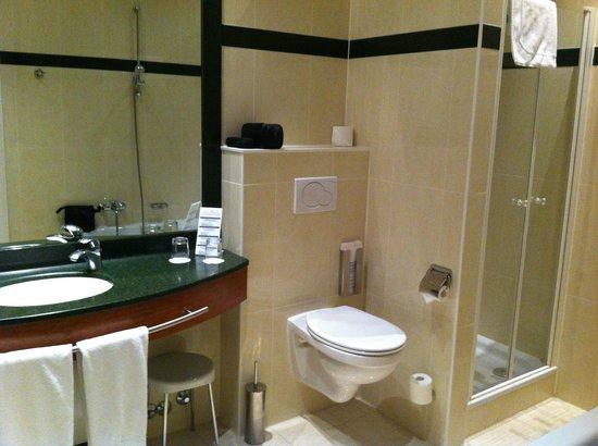 Oud Huis de Peellaert:                   Spacious bathroom