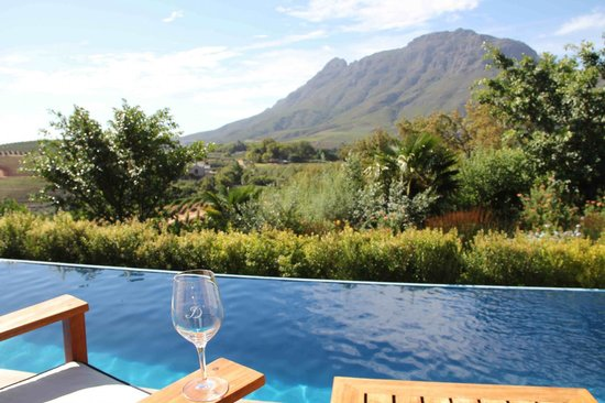 Delaire Graff Estate - Lodges and Spa:                   View from lodge
