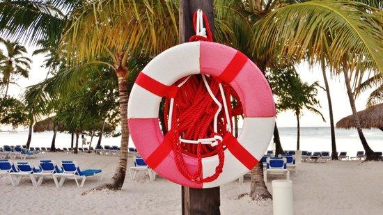 Dreams La Romana Resort & Spa: la plage