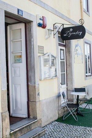 Legendary cafe: Outside Legendary