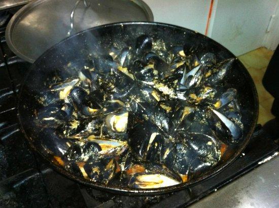 Can Bonachi: Mussels