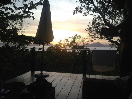 El Nido Overlooking:                   Terrasse view